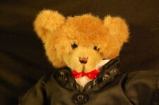 """Bear Tux Outfit 13"""" Plush Bear Works  Groom Prom Stuffed Animal Lovey Toy"""