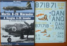 *Martin B-26 Marauder & Douglas A-26 Invader in Combat over Europe + decals !
