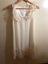 Decjuba White Frill Dress Size 8