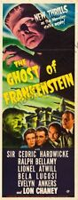 Ghost Of Frankenstein Movie Poster Insert Replica