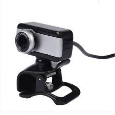 Fotocamera USB Webcam Web Cam con MIC CD per Personal Computer Computer po A0F2
