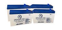 Liebert UpStation GXT1500RT-120 UPS Battery Kit - 4 Pack 12V 7AH High-Rate