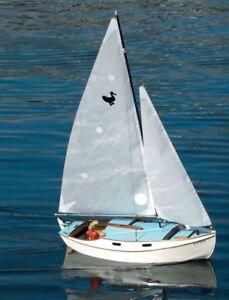 WILD DUCK 19. Sloop. Segelboot, Länge 1140 mm. Modellbauplan