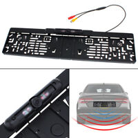 Car License Plate Frame Rear View Revers Backup Parking Night Vision Camera E EB