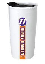 NASCAR #11 Denny Hamlin 12oz Double Wall Ceramic Tumbler-NASCAR Travel Mug