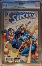 DC New 52 Superman #38 1:50 Lee Moder Variant CGC 9.8 Stargirl