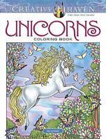 Creative Haven Unicorns Coloring Book (Paperback or Softback)