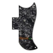 Scratch Plate PickGuard  Gibson SG  Style Electric Guitars (Black Pearl) #ORP