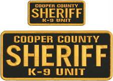 COPER COUNTY SHERIFF K-9 UNIT 4X10 & 2X5 hook on back