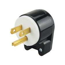 Right Angle Nema 5-15P US 3Promg Male AC Plug,UL US 15Amp Rotatable AC Plug