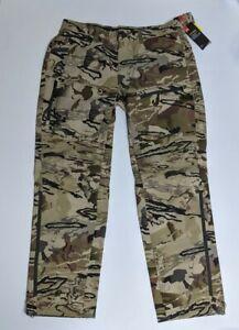 Under Armour Storm Barren Camo Ridge Reaper Raider Pants 1316961-999 Men's 36x32
