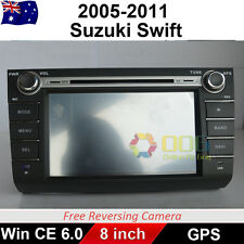"8"" Car DVD GPS Navigation Head Unit Stereo player For  Suzuki Swift 2005-2011"
