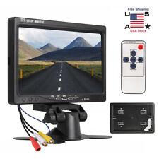 7'' HD TFT LCD Screen Car Rear View Monitor for Vehicle Backup Camera VCD DVD US