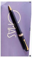 Penna a Sfera OMAS Arte Italiana MILORD BLACK finiture Oro Nuova Completa 2006
