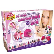 Luxury Mani-pedi Nail Spa Small World Toys Fashion Set to Pamper Nails