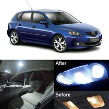 10Pcs  Premium LED Lights Interior Package Kit for Mazda 3  Xenon White