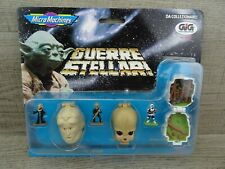 Star Wars Micro Machines 68020 Mini Heads Bib Fortuna Figrin D'an Scout Trooper