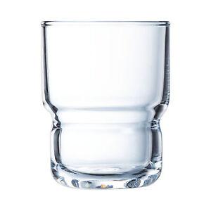 Arcoroc ARC L7427 LOG Trinkglas Wasserglas Saftglas 160ml Glas 6 Stück