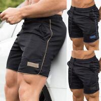 Men Sport Casual Shorts Pants Training Running Gym Fitness Bodybuilding Jogging