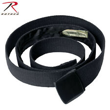 "Rothco 54"" Cotton Web Money Belt - Hidden Zippered Pocket Within The Belt"