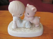 "Precious Moments ""We're In It Together"" E-9259 1982 Hourglass"