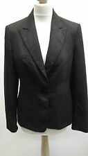 Dark Greywith Pink Pinstripes Jacket From Next size 12
