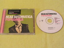 Head Automatica Popaganda 2006 CD Album Garage Pop Rock (9362-44237-2)