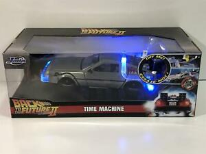 Back to the Future Part II Delorean Hoover Mode and Lights 1:24 Scale Jada 31468