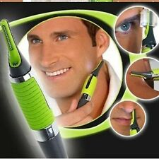 Handsome Men Body Nose Nasal Ears Eyebrow Facial Hair Clipper Trimmer Shaver New