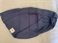Longaberger Cornflower Catalog Basket Blue Fabric Liner