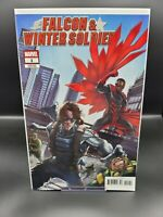 FALCON & WINTER SOLDIER #1 Cover B Variant MARVEL 1st Appearance THE NATURAL NM