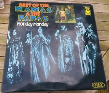 Mamas & The Papas, Monday Monday Best Of... vinyl LP, 1974