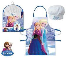 Bambine Bambini Disney Frozen Anna & Elsa Cook Regalo Chef Set comprende grembiule e cappello