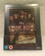 Pirates of the Caribbean At World's End STEELBOOK Blu Ray UK Disney Region B