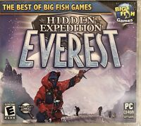 Hidden Expedition Everest Pc Brand New Win8 7 XP