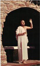"""Vintage Postcard - Black Hills Passion Play - """"After 3 Days He Arose"""" - Vg"""