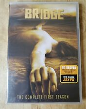 The Bridge Season 1, Season One, Diane Kruger,(DVD,2014,4-Disc Set) New & Sealed