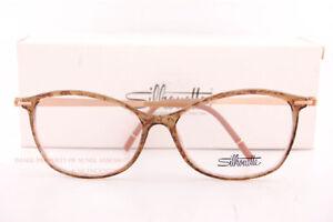 Brand New Silhouette Eyeglass Frames Momentum Fullrim 1592 6020 Marble/Rose Gold