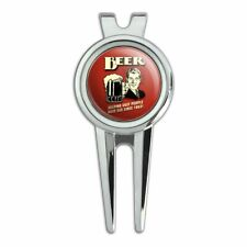Beer Helping Ugly People Have Sex Since 1862 Funny Golf Divot Tool Ball Marker