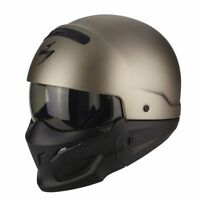 Casque MOTO helmet SCORPION EXO COMBAT SOLID Taille XL 61 62 - Streetmotorbike
