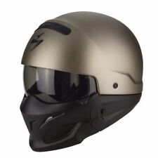 Casque MOTO helmet SCORPION EXO COMBAT SOLID Taille XL 61 62 - Streetmotorbike