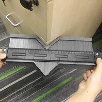 Shape Gauge Duplicator Profile Ruler Irregular Contour Template with Lock