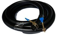 """Metric Heavy Duty Smooth Pond Hose w/Free Hose Clamps 1"""" (25mm), 16ft Roll"""