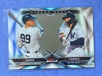 2020 Topps Finest FINEST DUALS Insert - Complete Your Set - You Pick Trout Tatis