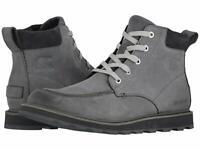 Men's Sorel Madson Moc Toe Waterproof Nubuck Boots - Quarry