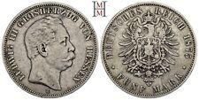 HMM - Hessen Ludwig III. 1848-1877 5 Mark 1875 H J. 67 - 160225014