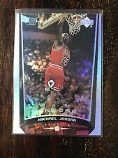 1998-99 Upper Deck Encore Michael Jordan #100 Chicago Bulls Holofoil Refractor