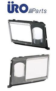 For Set of 2 Left & Right For Mercedes Headlight Door W124 260E 300Ce 300D 300Dt