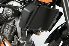 R&G BLACK RADIATOR GUARD for KTM 390 DUKE, 2013 to 2017