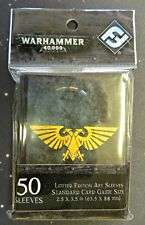 Warhammer 40K Limited Edition Imperial Aquila Standard Size Card Sleeves 50 ct